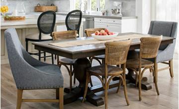 Столы и стулья. Легкий способ обновить гостиную, спальню, обеденную зону.