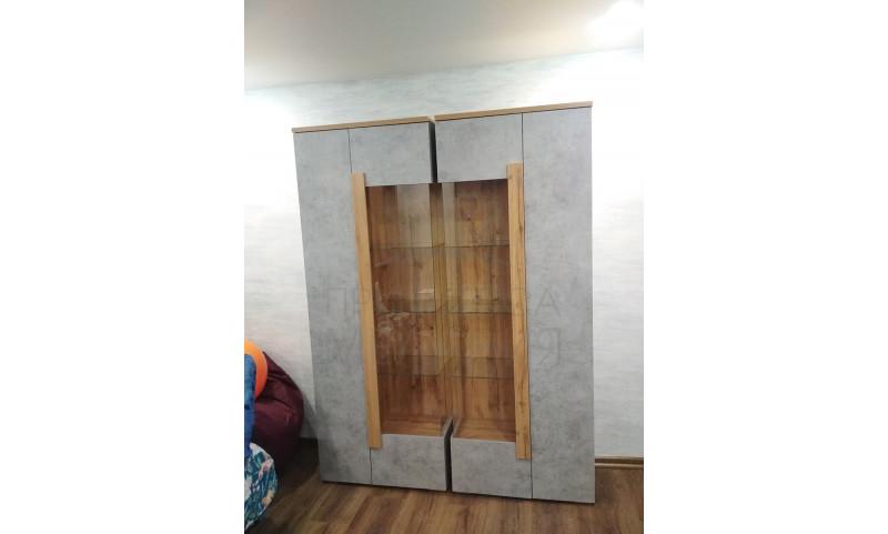 Шкаф-витрина Римини, арт.2001