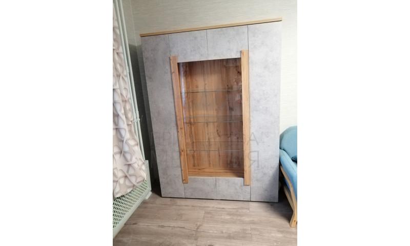 Шкаф Витрина 4-х дверная Римини, арт.2015