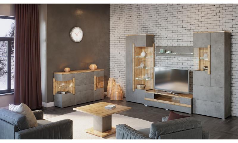 Модульная гостиная Римини, композиция №10