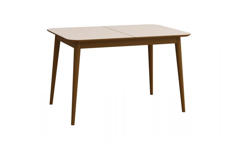 Обеденный раздвижной стол Сканди Бежевый