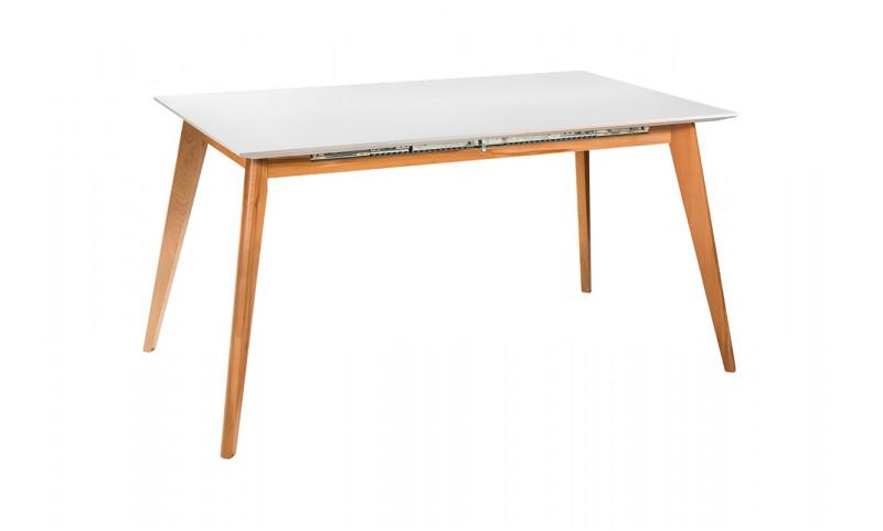 Раскладной стол Лунд Белый